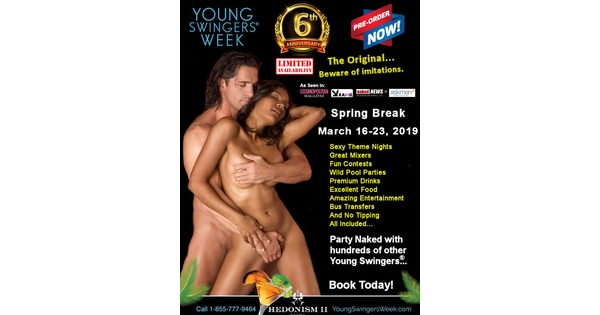 Come MEET ME at Young Swingers Week in MARCH 2019!!