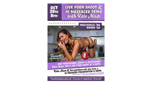Reminder: Im shooting my first real porn, LIVE for an audience