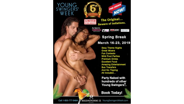Young Swingers Week MARCH 2019 FULL TAKEOVER EVENT!!!